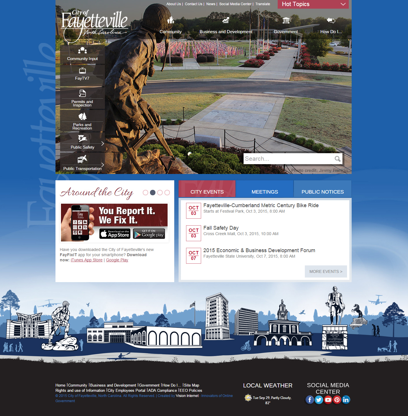City Launches New Website to Improve Information Sharing to Citizens