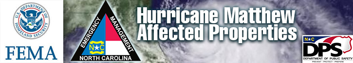 FEMA Programs for Hurricane Matthew Affected Properties