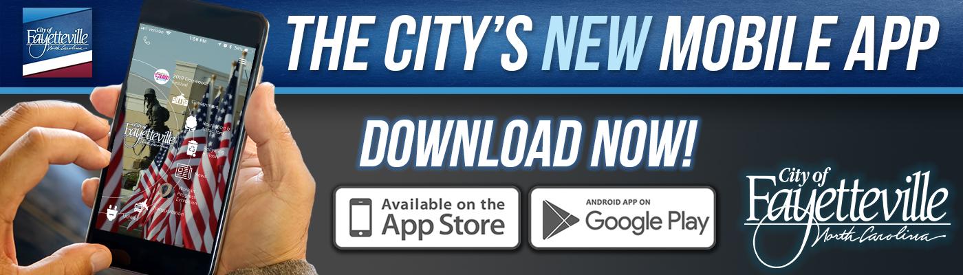 City Mobile App | Fayetteville, NC